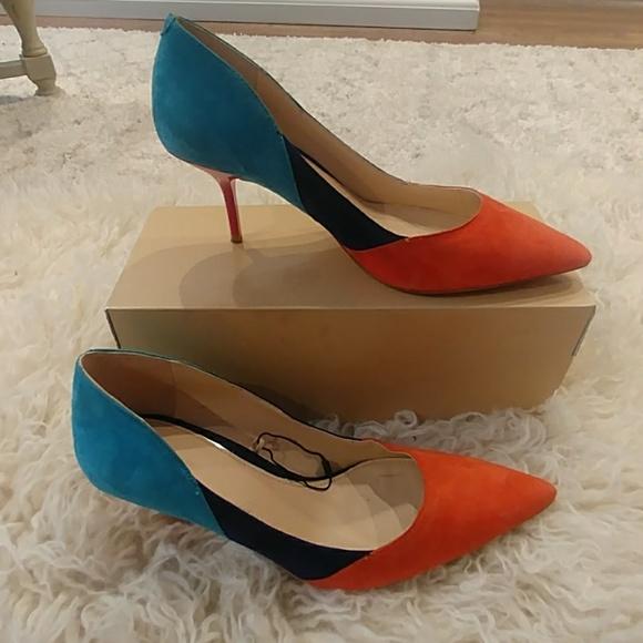 ee4a9e6b03a82 Multi Color Zara Kitten Heel Shoes. M_5b05a7352ae12f0fe0865efb
